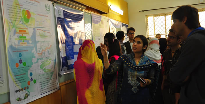 Poster Presentation Competition Organized by Department of Environment Sciences