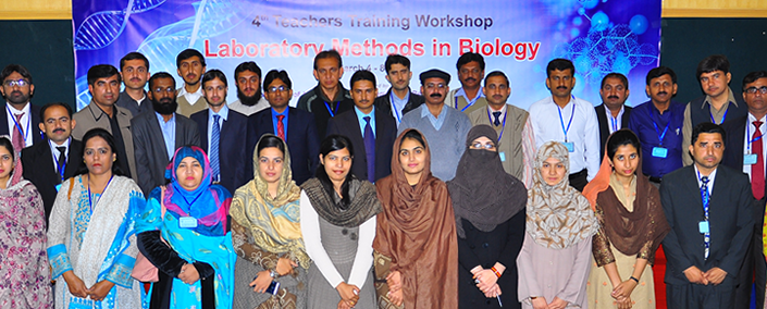 Serving the Community: 4-days workshop to enhance teachers skills