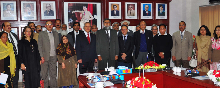 President and Dean of the University of Jordan Visited QAU