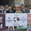 Department of Plant Sciences, QAU, Organized Awareness Walk on World Soil Day